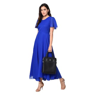 Westchic Dress Long Royal AZIZA Blue 1wqY6U1