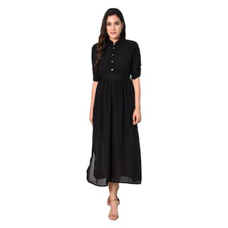Westchic BOLOVIA Black Long Dress