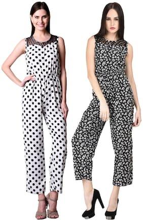 Westrobe Printed Jumpsuit - Multi