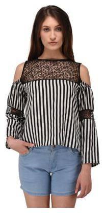 Westrobe Women Cotton Printed - A-line top Multi
