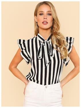Westrobe Women Striped A-line top - Multi