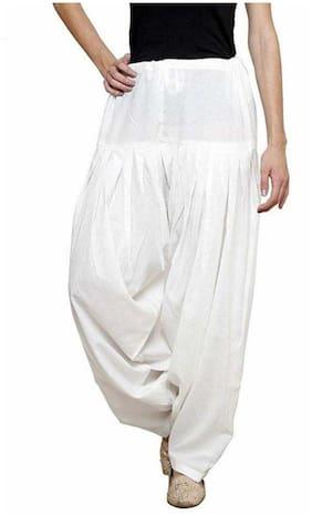AVINZO Cotton Salwar - White