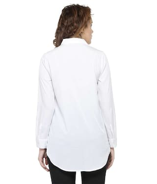 Embroidered Shirt White Shirt Embroidered White White White Shirt Shirt White Embroidered Embroidered x4w4IrUqR