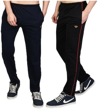 White Moon Men's Jogger Lower Track Pants Casual Wear (Pack of 2)