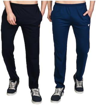 WHITEMOON Men Multi Solid Regular fit Track pants