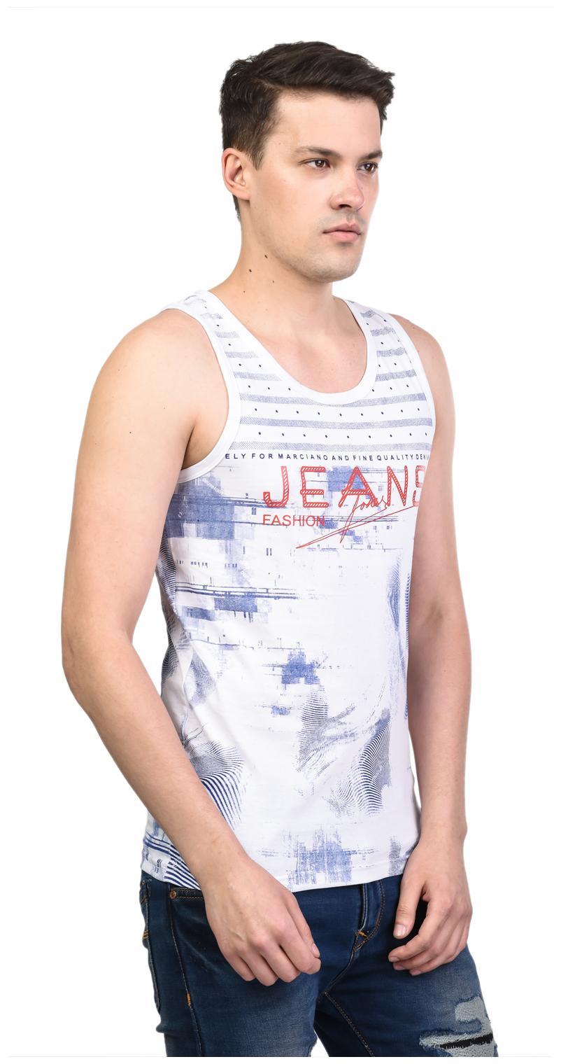 d0e0a519e3994 Buy White Moon Men s Cotton Printed Multi Sleeveless Gym Wear Vest  Article 3001 (pack of 3) Online at Low Prices in India - Paytmmall.com