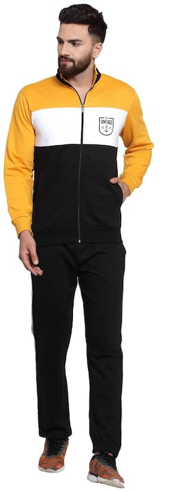 Wild West Men Fleece Track Suit - Multi