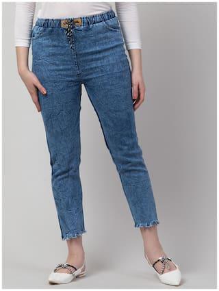 Arbiter Collection Women Blue Slim fit Jeans