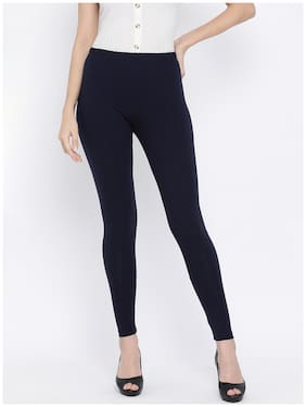 Sundish Women Ankle Length Solid Leggings