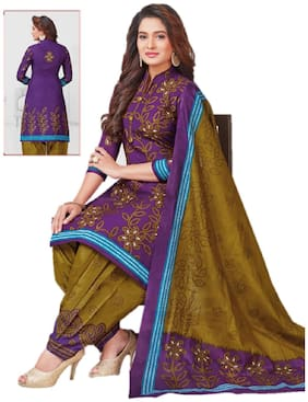 Women Dress Material Bandhani SPECIAL100% Cotton Unstitched