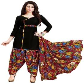 Women Dress Material Patiyala Special 100% Cotton Un-stitched