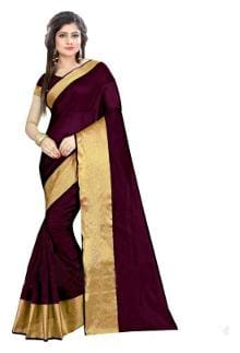 Silk Kota Doria Saree ,Pack Of 1