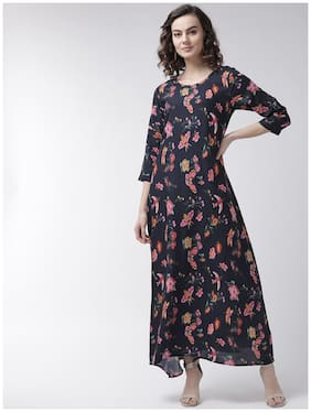 Rue Collection Multi Floral Maxi dress
