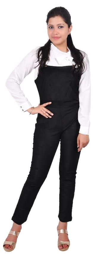 RIVI Solid Jumpsuit - Black