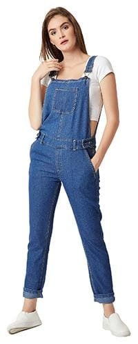 Women Solid Dungaree ,Pack Of 1