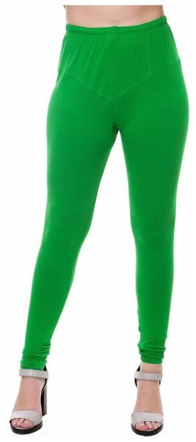 Mr.Taylorz Cotton Lycra Green Leggings
