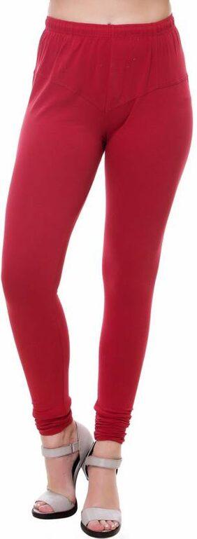 Women's Maroon Leggings