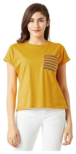 Women Half Sleeves T Shirt ,Pack Of 1