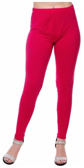Mr.Taylorz Cotton Lycra Red Leggings