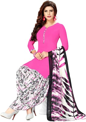 3d99e1c484a4 Women Shoppee Crepe Printed Dress Material - Multi