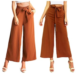 Wide Pants Nine Loose Leg of Minutes Women xvw0q68AA