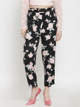 Womens Printed Trouser