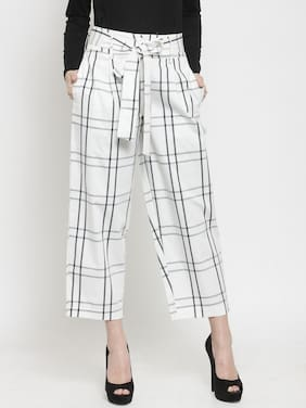 Womens Striped Trouser