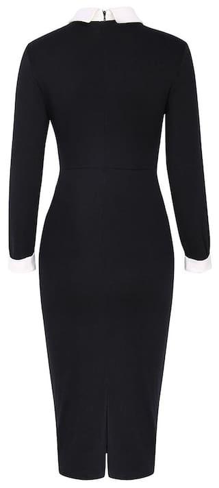 Down Dress LL Collar Turn Womens Lapel Store Uwzqg0Fn