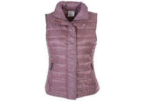 Woodland Women Solid Quilted Jacket Jacket - Pink