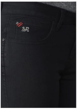 Jeans Fit Black Wrangler Slim Drew Rise Mid w0PpXq7
