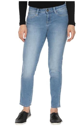 Mid Regular Rise Blue Coryn Fit Jeans Wrangler 64qg8w5n