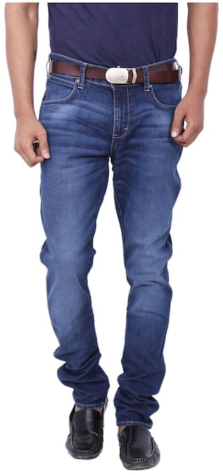 521387fe37 Buy Wrangler Blue Low Rise Slim Fit Jeans (Vegas) Online at Low ...