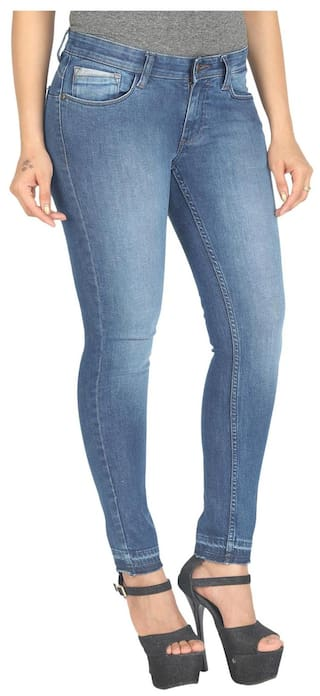 Fit Blue Wrangler Jeans Jane Low Rise Slim gAgCxwq
