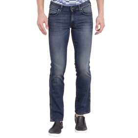 Wrangler Blue Low Rise Regular Fit Jeans