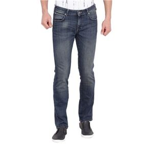 Wrangler Blue Mid Low Rise Regular Fit Jeans