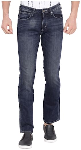 Men Regular Fit Low Rise Jeans