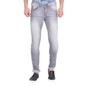 Wrangler Grey Low Rise Skinny Fit Jeans
