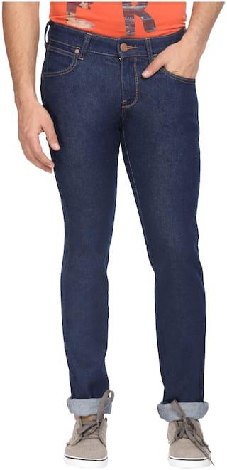 bcad7bf1 Buy Wrangler Men Low Rise Slim Fit ( Skanders ) Jeans - Blue Online ...
