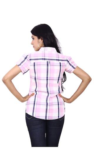 Wrangler Shirt Pink Pink Cotton Wrangler Shirt Cotton 5SnTq
