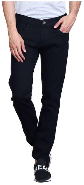 X-CROSS Black Regular Fit Jeans