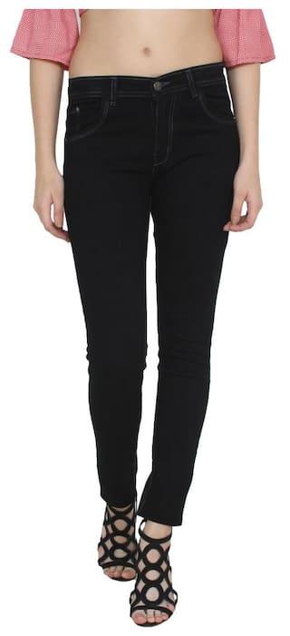 XEE Skinny Women Black Jeans