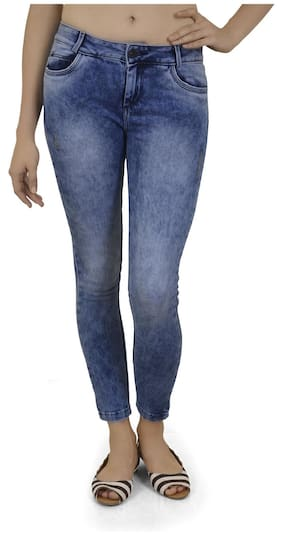 Xpose Blue Mid rise Jeans