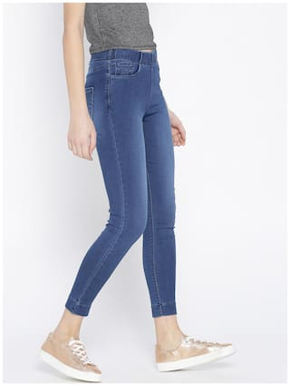 Xpose Xpose Blue Jeggings Washed Blue Cropped xFFYTq6wr
