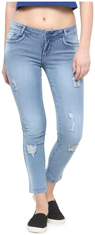 Xpose Distress Light washed Jeans