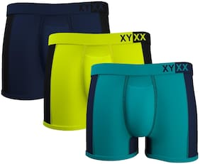 XYXX Solid Trunks - Multi ,Pack Of 3