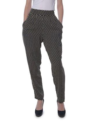 Yaadleen Poly Crepe Trousers Pants