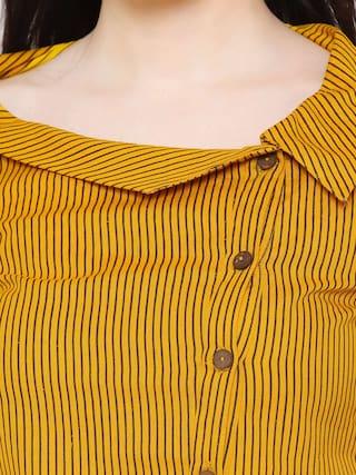 Shirt GALLERY Printed Cotton Flex Western Women's YASH dqRYY