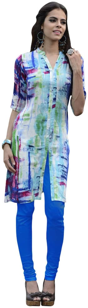 Yes Fab Designer Digital printed kurtis