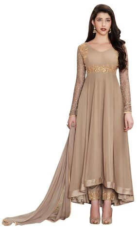 YOYO Fashion Georgette Comfort Churidar - Brown