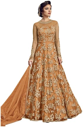 Women Printed Wedding Gown